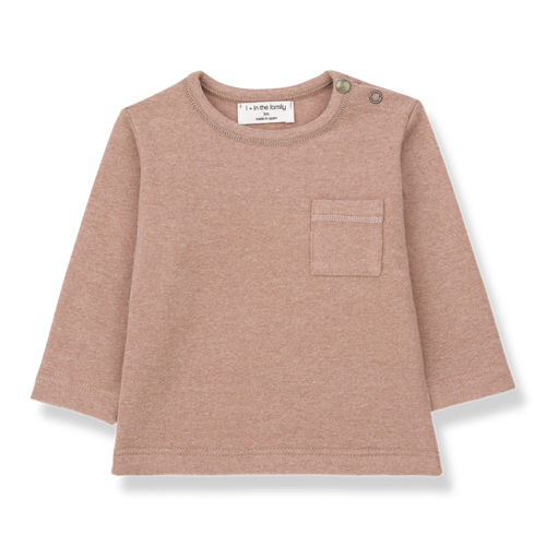 1+ in the family Bilbao - Long Sleeve T-Shirt - Rose