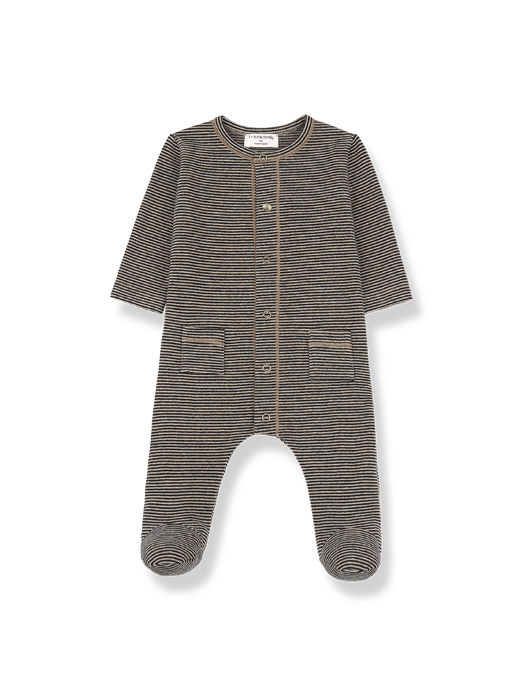 1+ in the family Mons - Jumpsuit - Black/Beige
