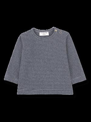 1+ in the family Liege - Long Sleeve T-Shirt - Light/Dark Blue