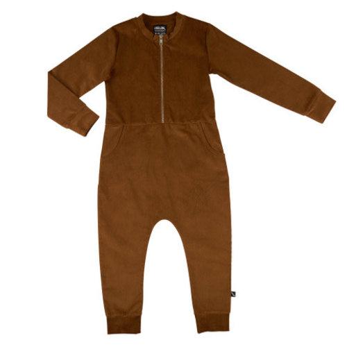 CarlijnQ Basics - Jumpsuit with zipper