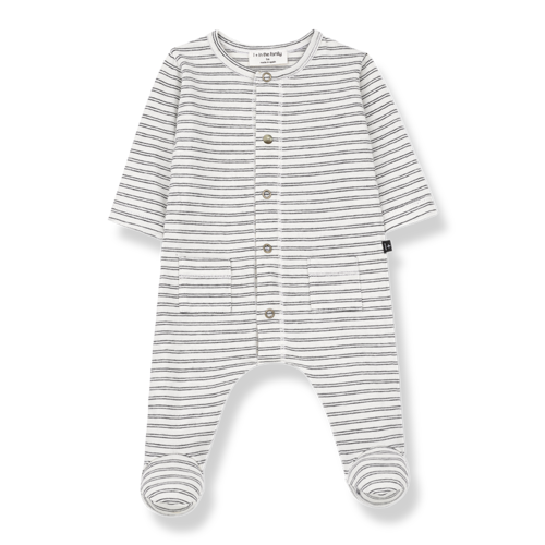 1+ in the family Girona - Jumpsuit - White/Black