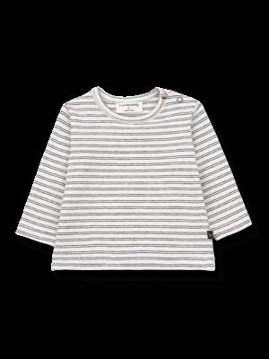 1+ in the family Barcelona - Long Sleeve T-Shirt - White/Black