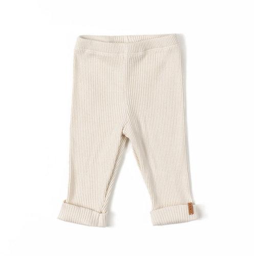 Nixnut Rib Legging - Cream