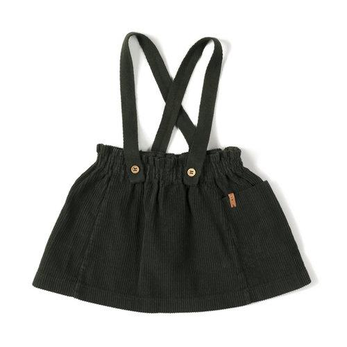 Nixnut Strap Skirt - Deep Moss