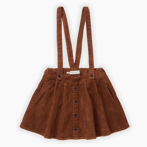 Sproet & Sprout Corduroy Skirt - Mocha