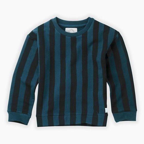 Sproet & Sprout Sweatshirt Painted Stripe - Moonlight