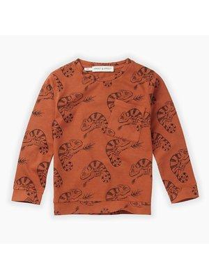 Sproet & Sprout T-shirt Chameleon AOP - Ginger