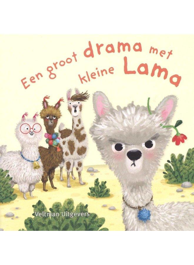 Veltman Uitgevers - Anne Taube - Een groot drama met kleine lama