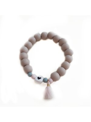 Sweet Petite Jolie Armbandje 6 - Hartje - Beige