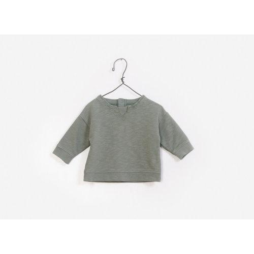 Play Up Fleece Sweater - Green