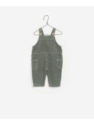 Play Up Corduroy Jumpsuit  - Green