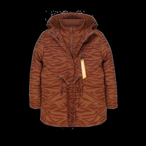 Ammehoela Storm - Jacket - Brown Tiger