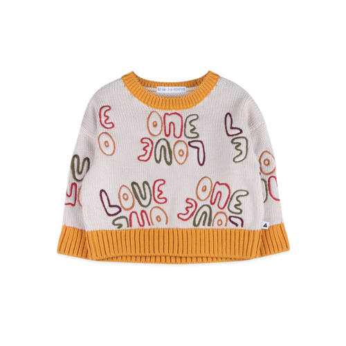 Ammehoela Love - knit -  Off White