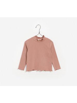 Play Up Rib T-Shirt - Rose