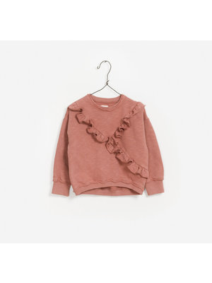 Play Up Fleece Sweater - Rose