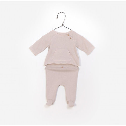 Play Up T-Shirt + Trousers - Set - Rose