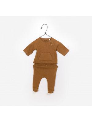 Play Up T-Shirt + Trousers - Set - Caramel