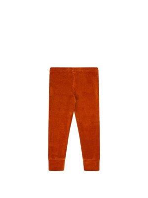 Mingo Legging - Velvet Rib - Leather Brown