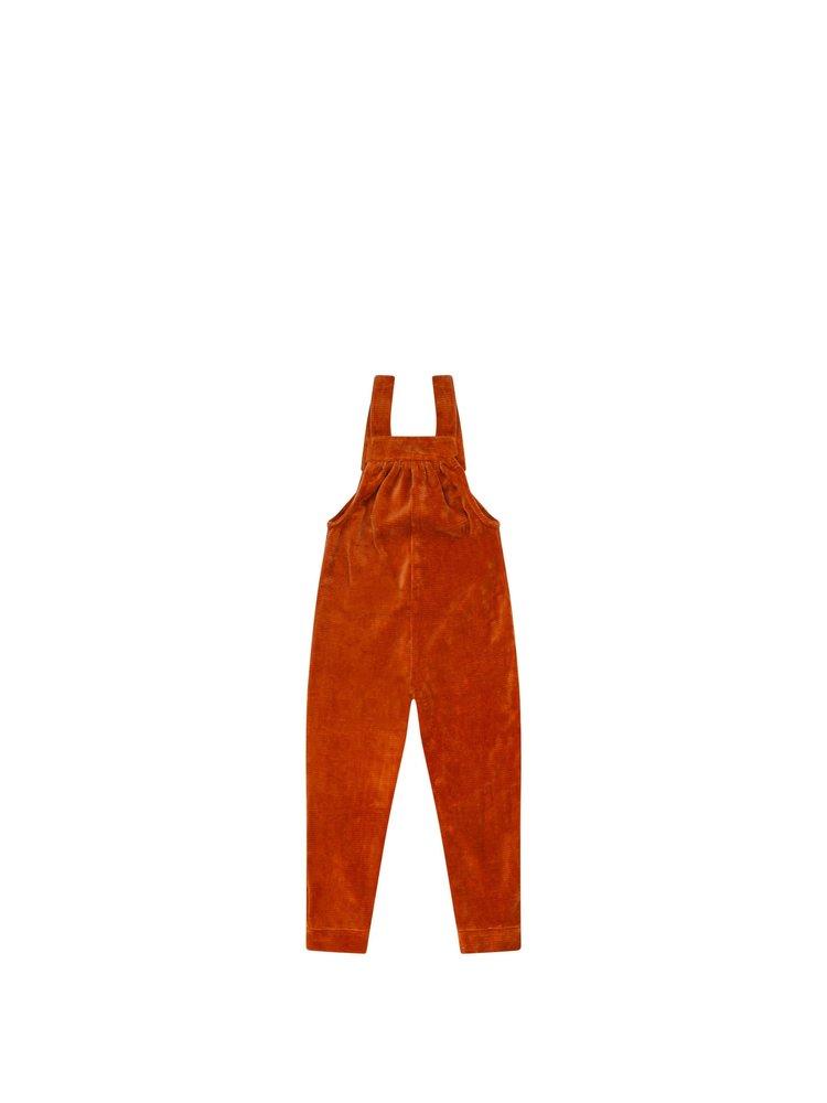 Mingo Salopette - Velvet Rib - Leather Brown