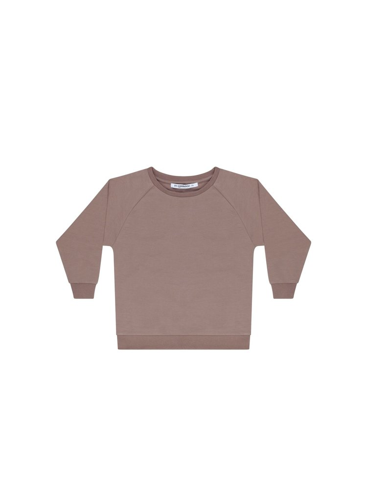 Mingo Oversized Sweater - Sweat - Taupe