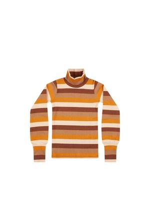 Mingo Turtle Neck - Rib Jersey - Multi Color