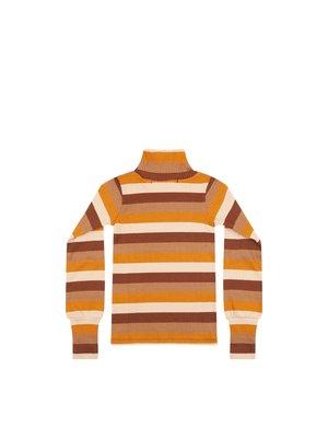 Mingo Turtle Neck - Rib Jersey - Multi Color
