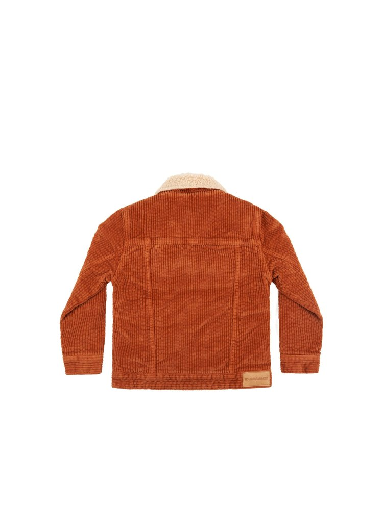 Mingo Oversized Jacket - Corduroy - Leather Brown