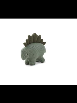Liewood Stego Dino Knit Teddy - Faune Green