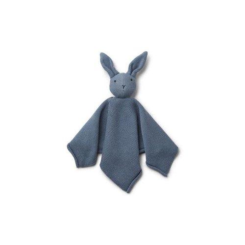 Liewood Milo Knit Cuddle Cloth - Rabbit Blue Wave
