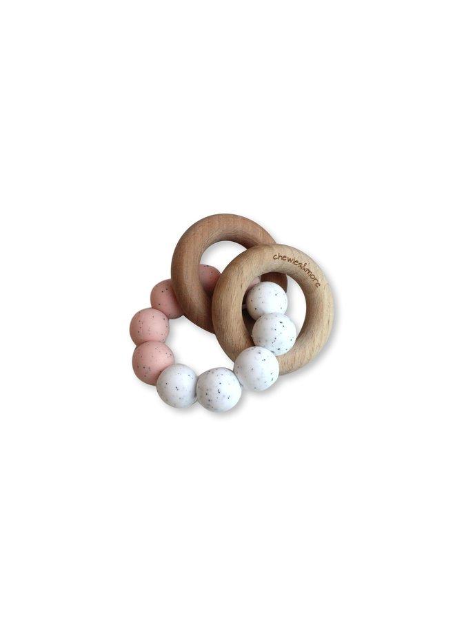 Basic Rattle - Rose Gritt & White Gritt