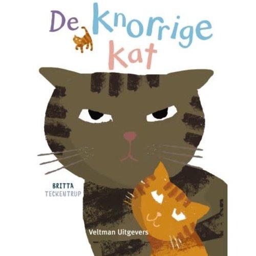 Veltman Uitgevers De Knorrige Kat - Britta Teckentrup