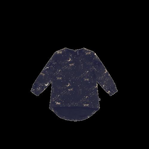 House of Jamie Long Tunic Sweater - Stargazer