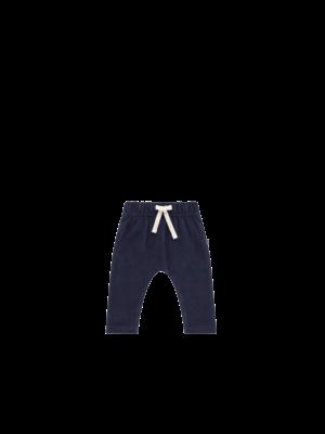 House of Jamie Baby Pants - Midnight Velvet Blue