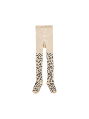 House of Jamie Tights - Caramel Leopard