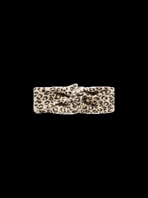 House of Jamie Turban Headband - Snow Leopard