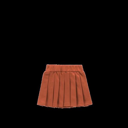 House of Jamie Pleated Skirt - Rust