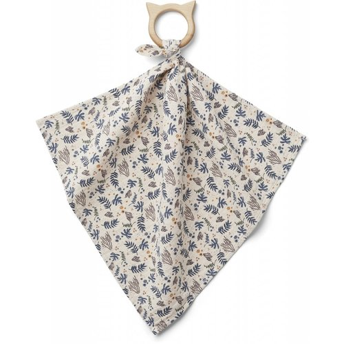 Liewood Dines Teether Cuddle Cloth - Coral Floral Mix
