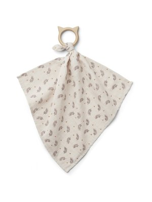 Liewood Dines Teether Cuddle Cloth - Fern Rose