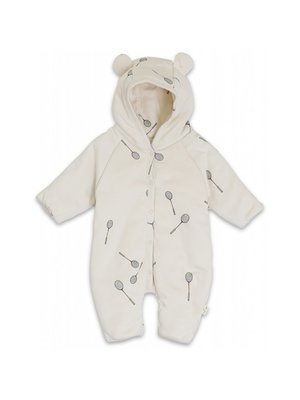 Konges Sløjd Newborn Onesie With Hood - Smash