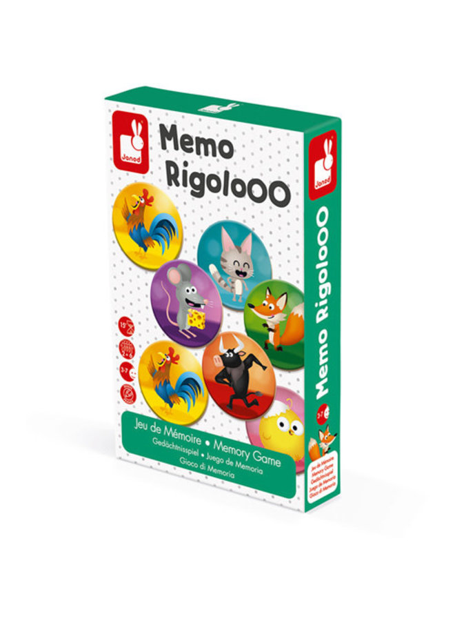 Spel - Memory Rigolooo