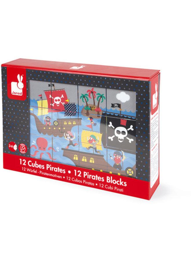 Kubkid - Blokpuzzel Piraten