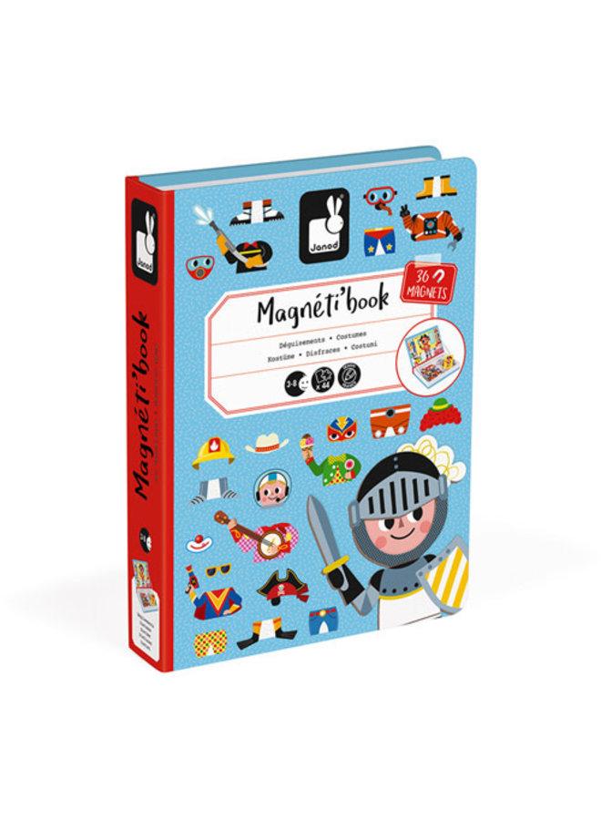Magnetibook - Verkleedfeest Jongens