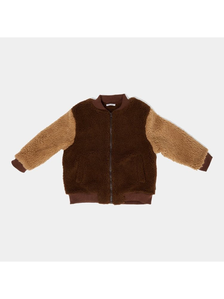 Daily Brat Billy - Teddy bomber cone brown