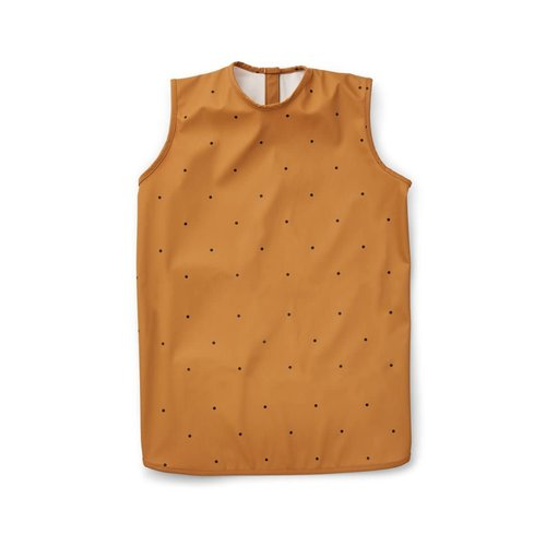 Liewood Dave apron - Classic dot mustard