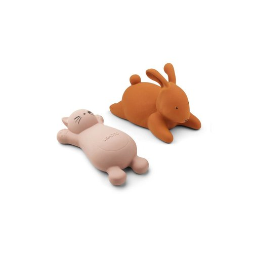 Liewood Vikky bath toys - 2 pack - Cat rose