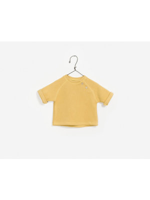 Play Up Double Face Sweater - Yellow