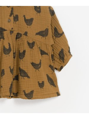 Play Up Printed Woven Tunic - Chicks