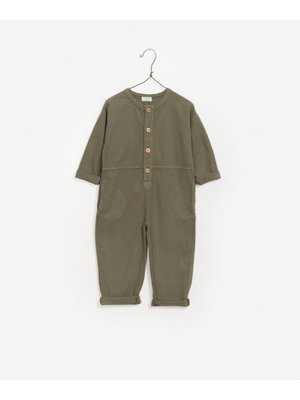 Play Up Twill Jumpsuit - Legends