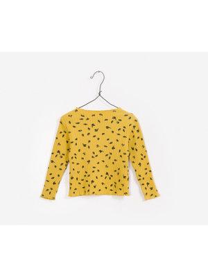Play Up Rib T-Shirt - Yellow