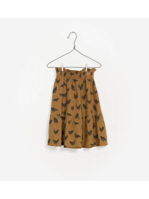 Play Up Printed Woven Skirt - Chicks
